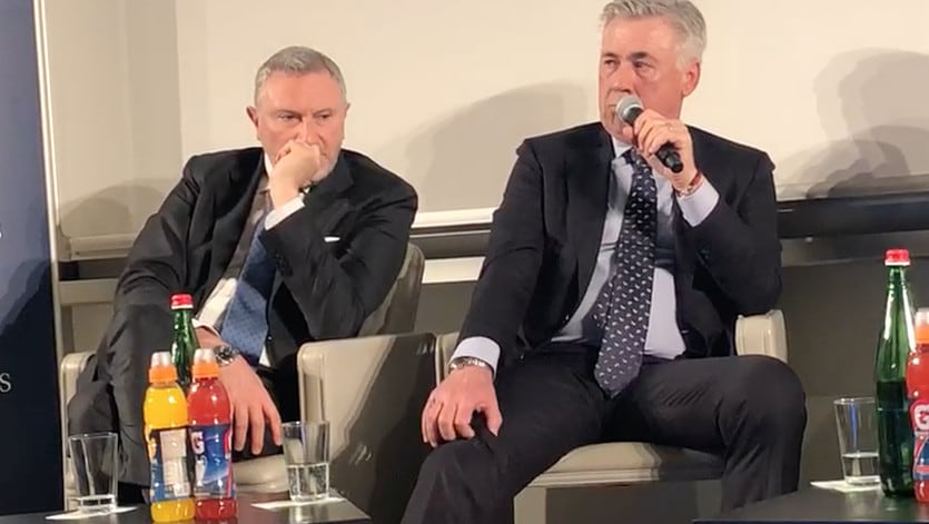 Ancelotti: Ecco perché ho scelto il 4-4-2 per il Napoli