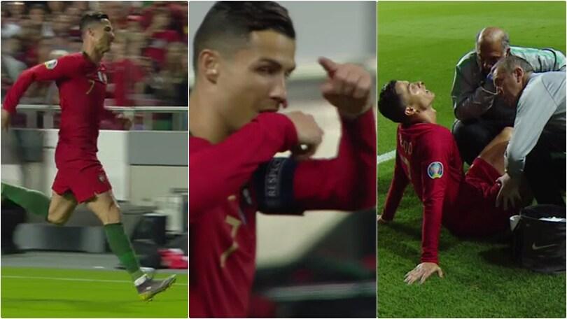 Portogallo, Cristiano Ronaldo ko: costretto al cambio