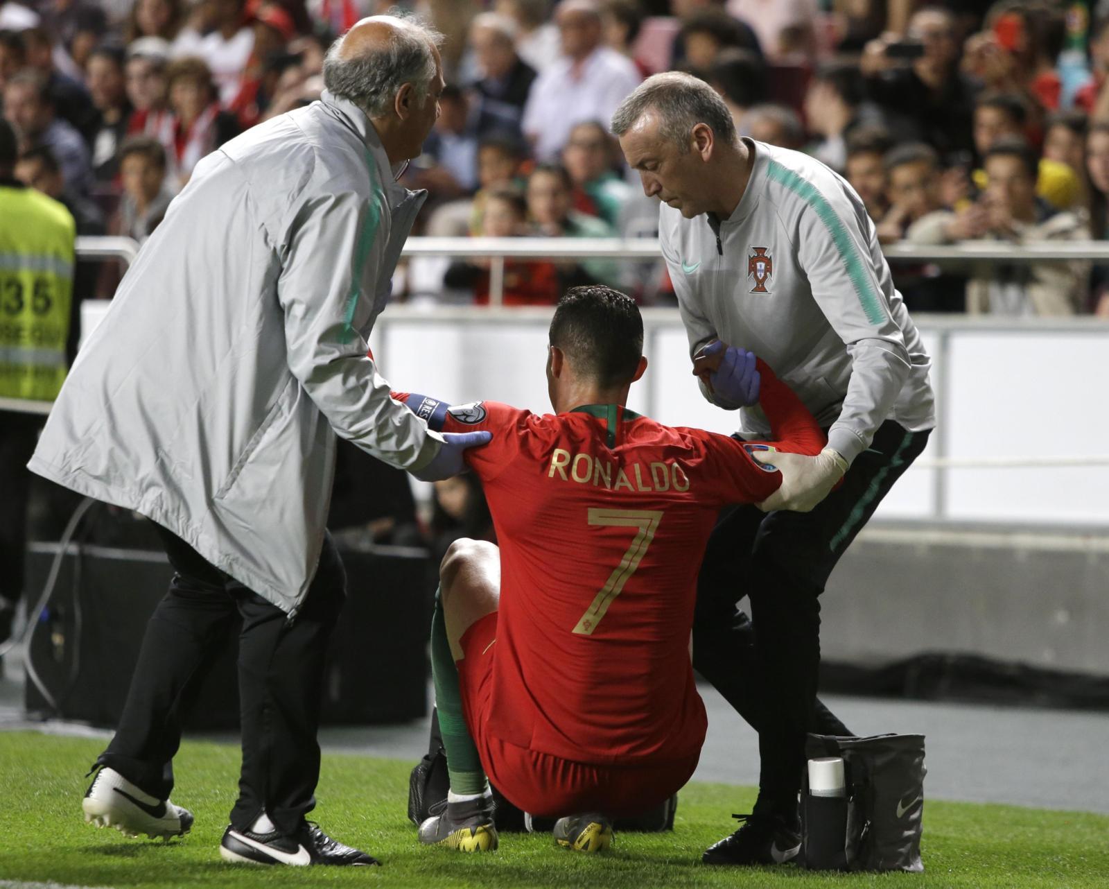 Portogallo, Ronaldo infortunato: Juve in ansia
