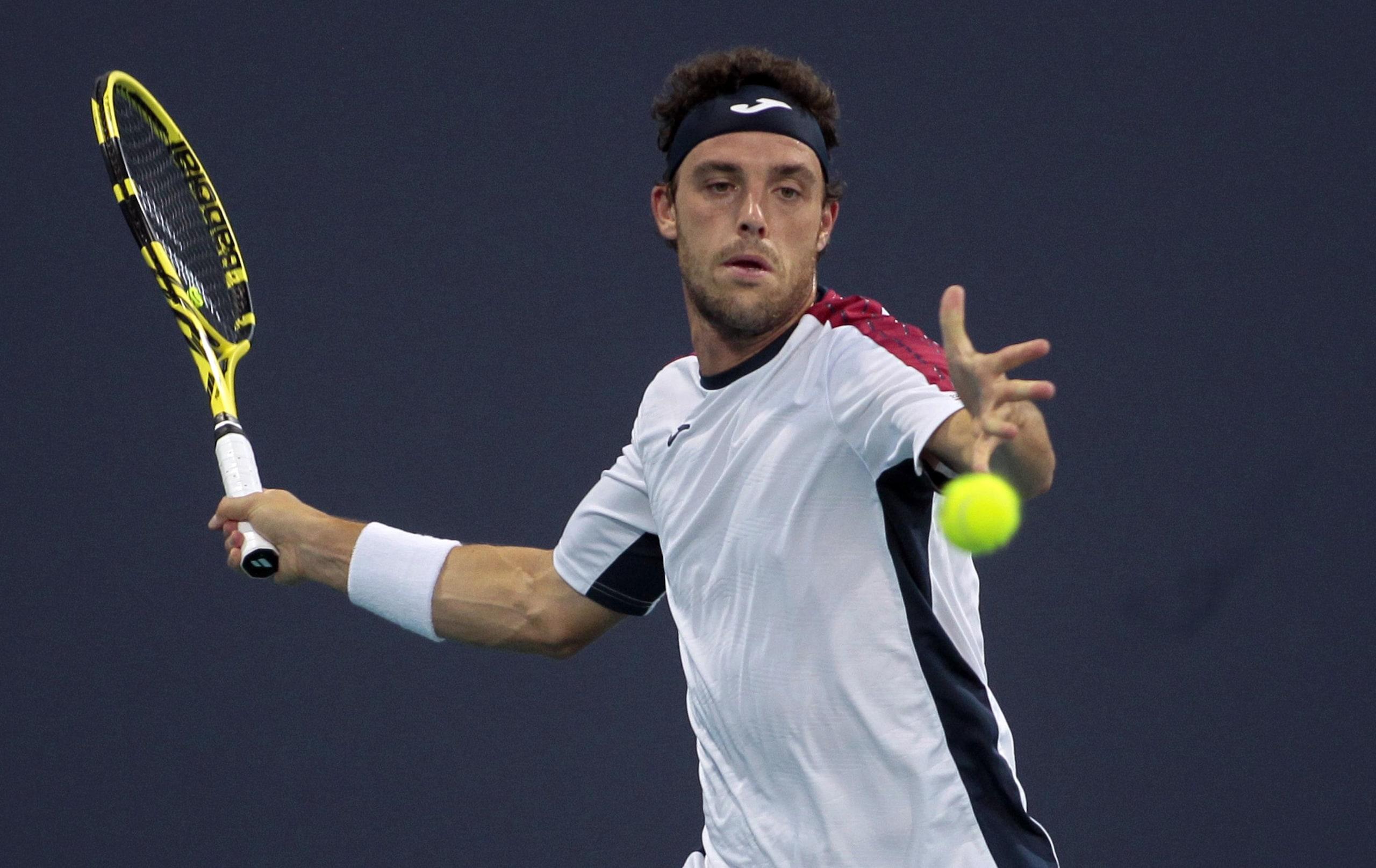 Tennis: Miami, fuori anche Cecchinato