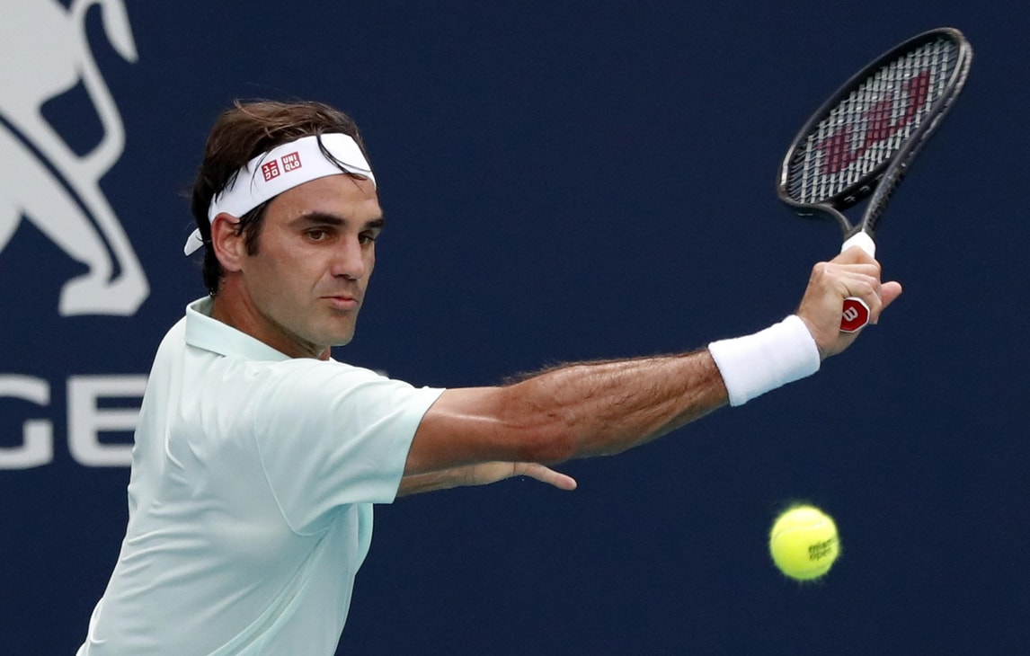 Tennis, Miami: Federer agli ottavi, Cecchinato si arrende a Goffin