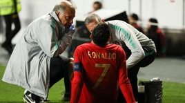 Infortunio Ronaldo, ora gli esami: ecco che rischia