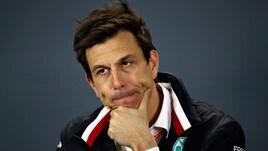 F1 Mercedes, Wolff: «In Bahrain non siamo i favoriti»