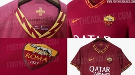 Roma, ecco altre immagini sulla nuova maglia: sarà così nella prossima stagione?