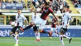 Serie A Bologna, lavoro differenziato per Santander