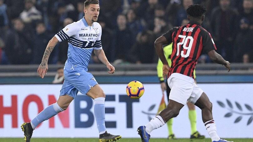 Coppa Italia, Milan-Lazio il 24 aprile, Atalanta Fiorentina il 25