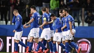 Italia show al Tardini, goleada al Liechtenstein