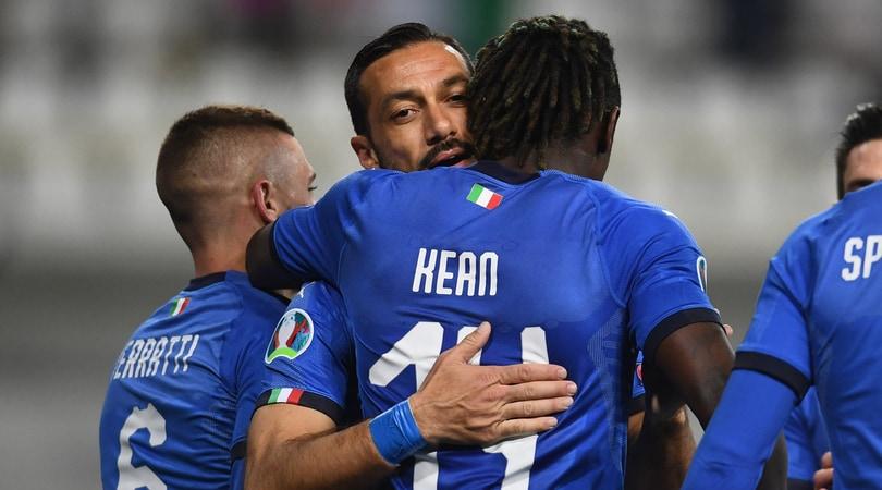 Italia-Lichtenstein 6-0: che doppietta per Quagliarella!