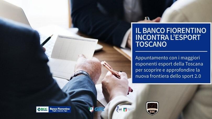 Il Banco Fiorentino incontra l'esport con ESC Gaming e GEC