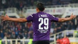 Fiorentina, Muriel prenota il riscatto