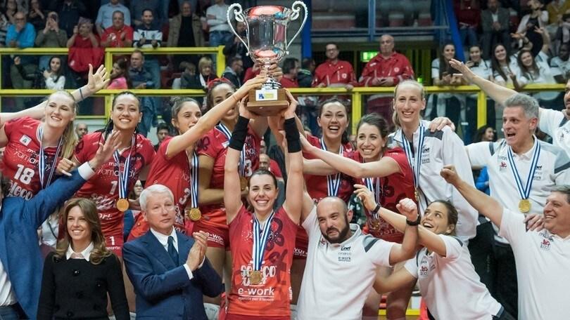 Volley: Cev Cup, le Farfalle di Busto volano sul gradino più alto
