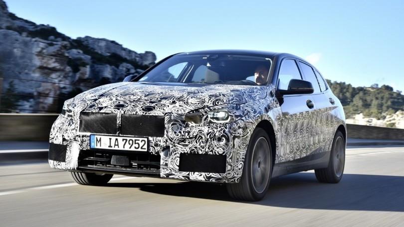 Nuova BMW Serie 1 con trazione anteriore