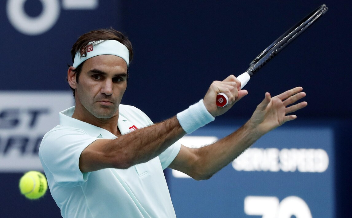Tennis, Miami: Federer vola ai quarti, Auger-Aliassime nella storia