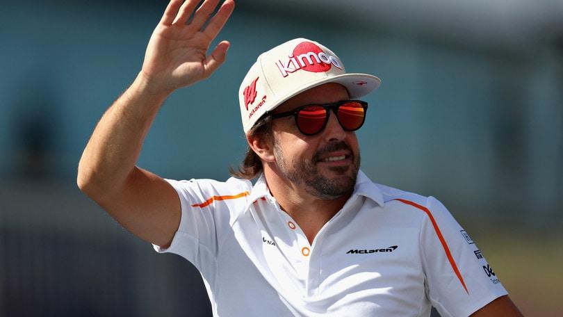 F1, Alonso: «Grandi sensazioni sulla macchina da rally»