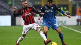 Empoli, Dell'Orco: «Juventus? Proveremo a metterli in difficoltà»