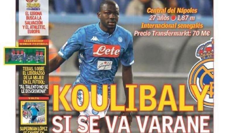 Napoli, spunta la clausola per Koulibaly. Ma il Real Madrid...