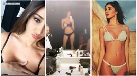 Belen, foto sexy in intimo su Instagram