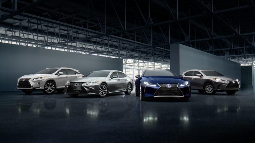 Lexus, 10 anni di garanzia sull'hybrid