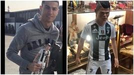 Ecco la statuina di Cristiano Ronaldo
