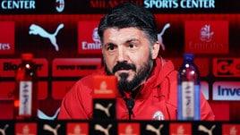 Milan, Gattuso: «Il derby perso è colpa mia. La Champions è il nostro scudetto»