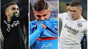 Napoli, gli obiettivi per il prossimo calciomercato estivo