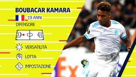 Kamara, il talento scoperto da Garcia