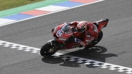MotoGp, Argentina: Dovizioso al comando, Rossi sesto