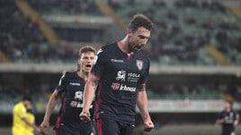 Cagliari show a Verona: Chievo travolto