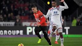 Ligue 1: al Lione basta Terrier, Rennes ko
