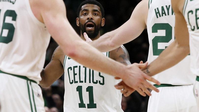 Nba, Irving lancia Boston al 4° posto