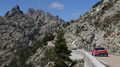 Rally Corsica: inizio in salita per la Citroen