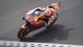 MotoGp, Argentina: Marquez comanda le terze libere, Rossi settimo