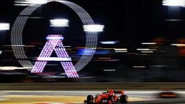 F1, griglia di partenza Gp Bahrain: Ferrari super, Leclerc in pole