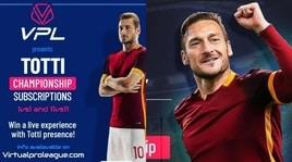 Totti Championship al via il 7 maggio