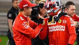 F1 Bahrain, Vettel: «Leclerc, lavoro fantastico! Ferrari migliorata»