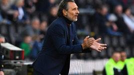 Serie A Genoa, Prandelli: «Il gol in avvio ci ha rovinato i piani»