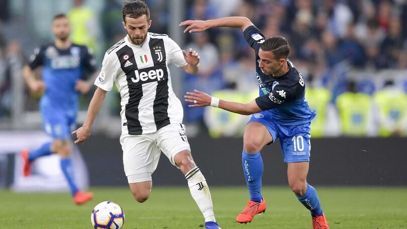 Serie A Juventus-Empoli 1-0, il tabellino