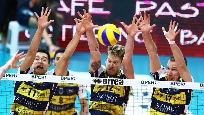 Volley: Modena inaugura i Play Off con una vittoria