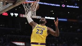 Basket, Nba: stagione finita per LeBron James