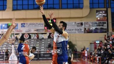 Basket Serie A2, la Virtus Cassino crolla contro Bergamo: 70-99