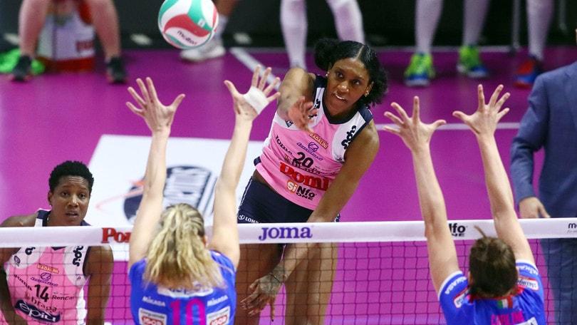 Volley: A1 Femminile, dopo l'ultima giornata definiti gli accoppiamenti Play Off