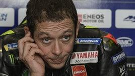 MotoGp Argentina, Rossi: «Giro buono, non così lontano dalla pole»
