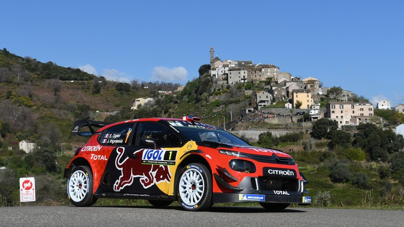 Rally Corsica: Ogier in crescita, Evans al comando