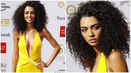 Raven Lyn in giallo incanta Hollywood