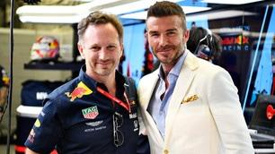 F1, in Bahrain c'è un principe: è David Beckham