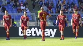 Roma, testa bassa all'Olimpico dopo il ko con il Napoli
