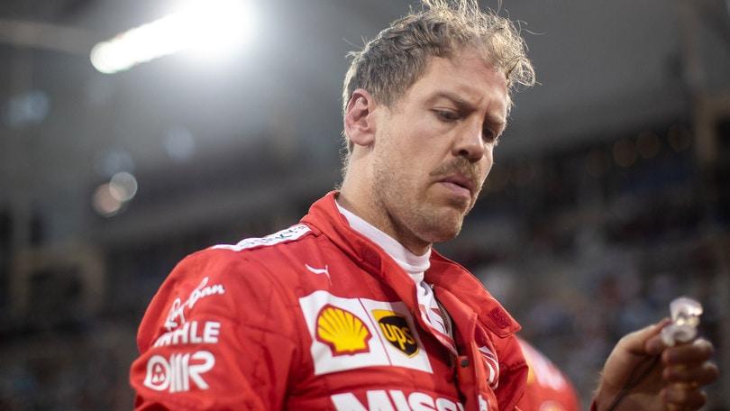 F1 Ferrari, Vettel: «Macchina danneggiata, è stato difficile»