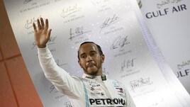 F1 Bahrain, Hamilton: «Leclerc meritava la vittoria»