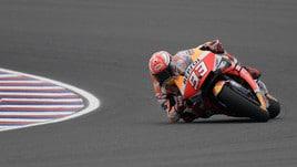 MotoGp, Argentina: dominio Marquez, Rossi 2° davanti a Dovizioso