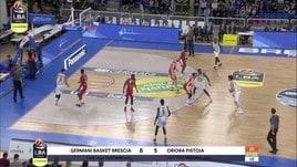 Germani Basket Brescia-Oriora Pistoia 87-79